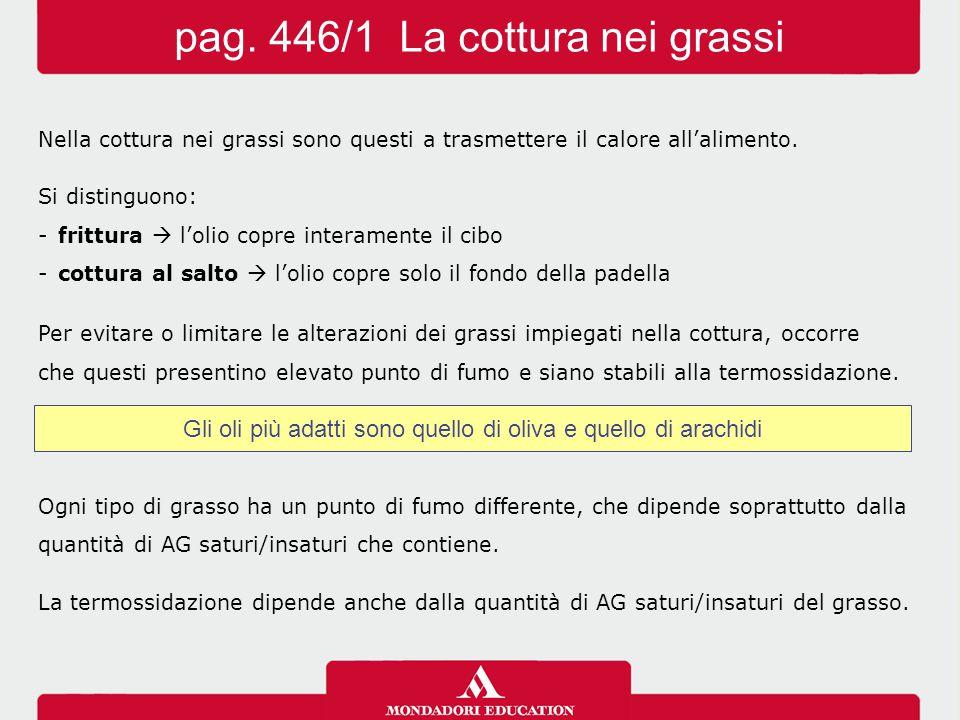 pag. 446/1 La cottura nei grassi