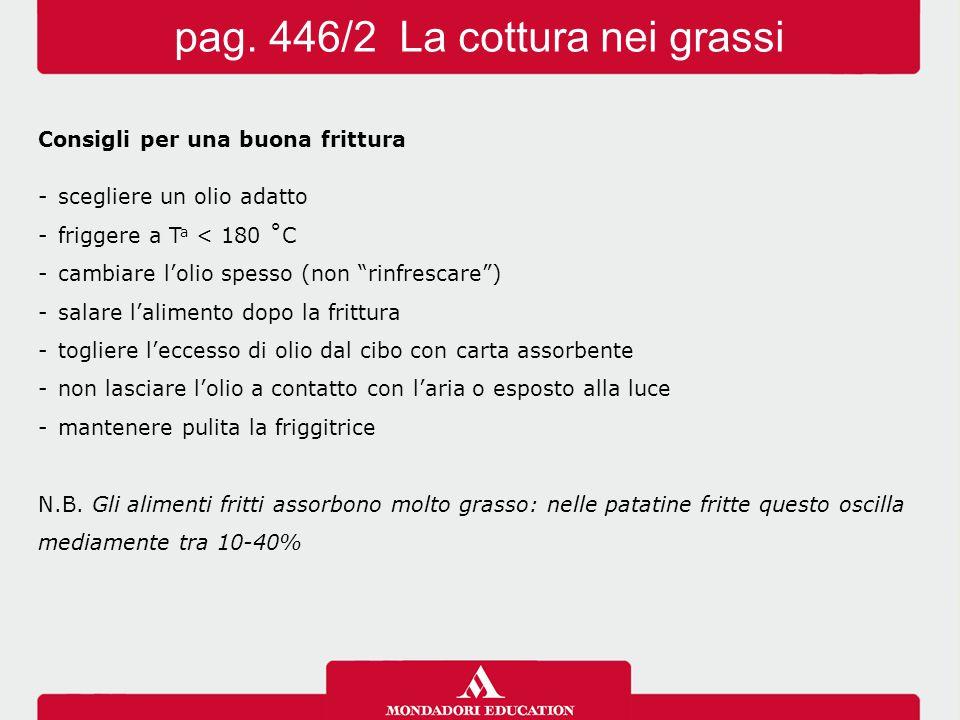 pag. 446/2 La cottura nei grassi