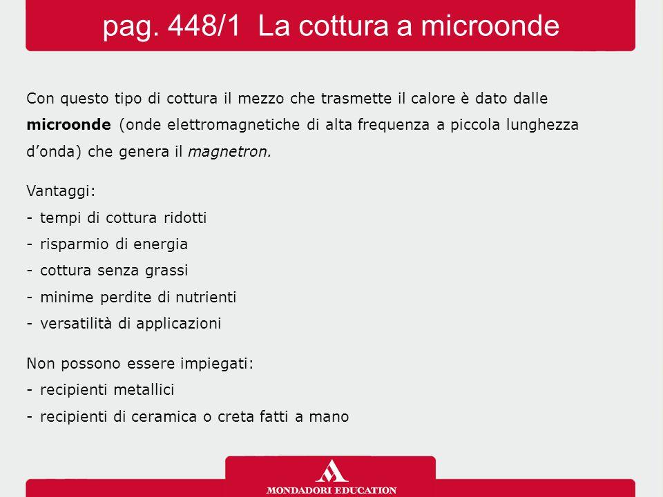 pag. 448/1 La cottura a microonde