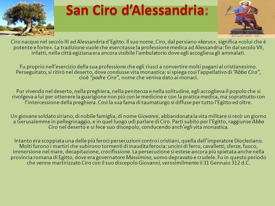 San Ciro d'Alessandria: