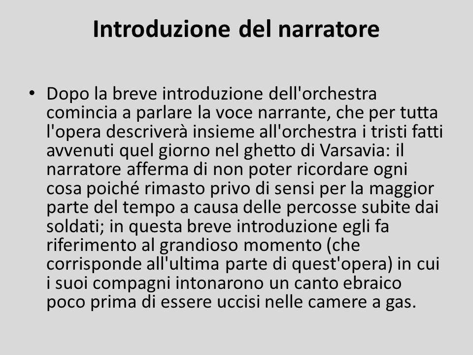 Introduzione del narratore