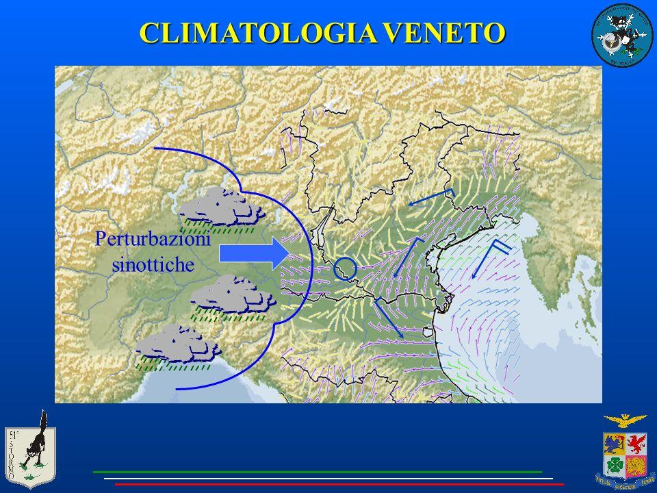 CLIMATOLOGIA VENETO Perturbazioni sinottiche