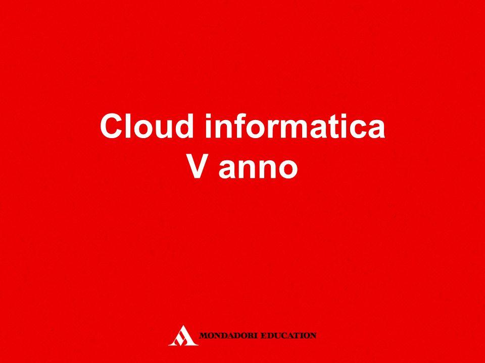 Cloud informatica V anno