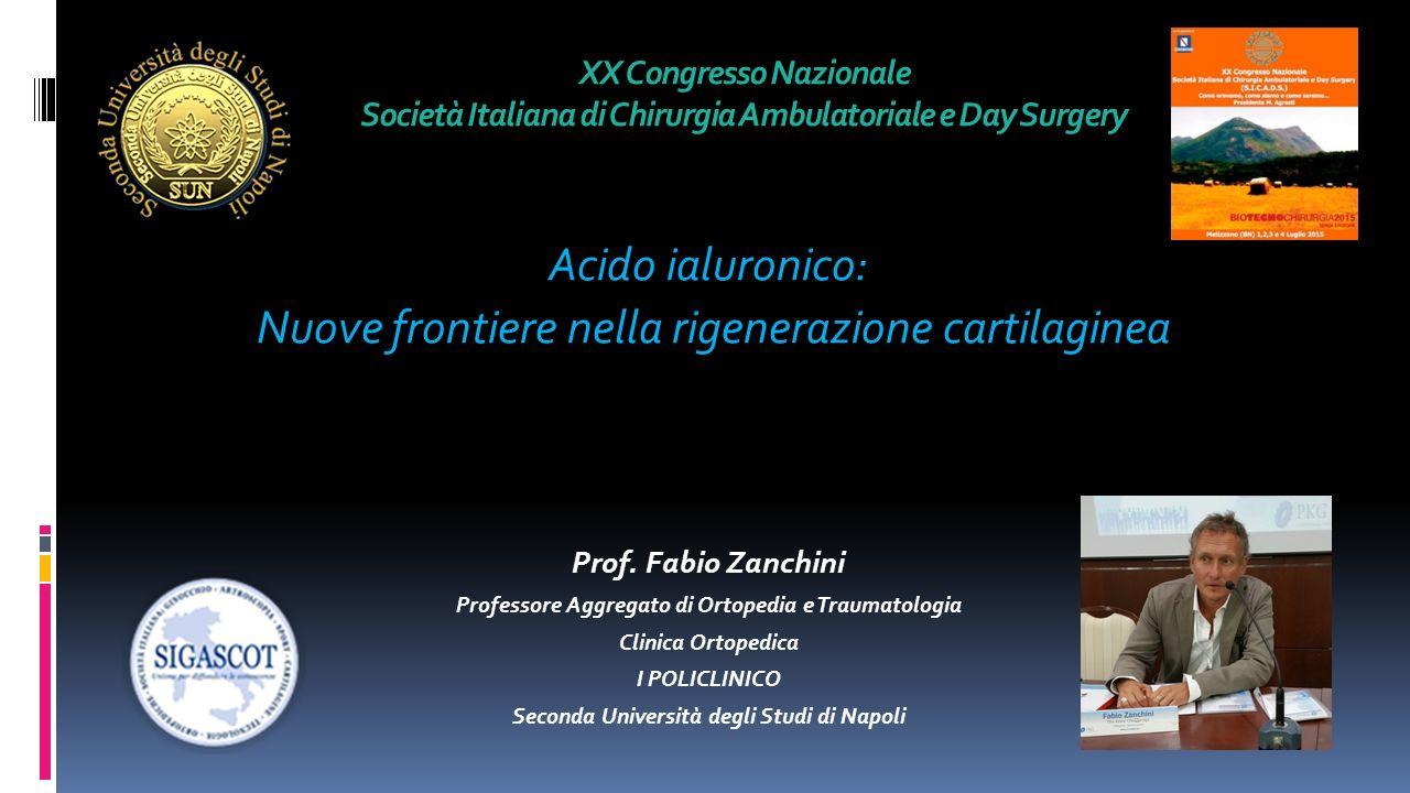Nuove frontiere nella rigenerazione cartilaginea