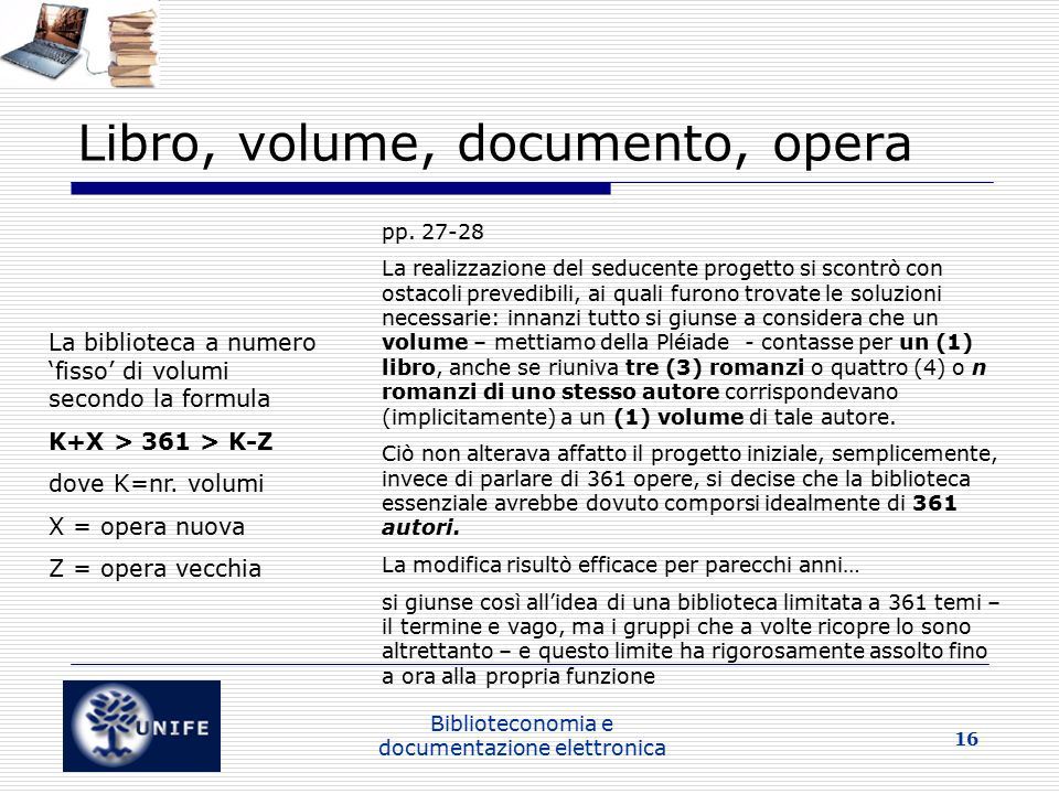 Libro, volume, documento, opera