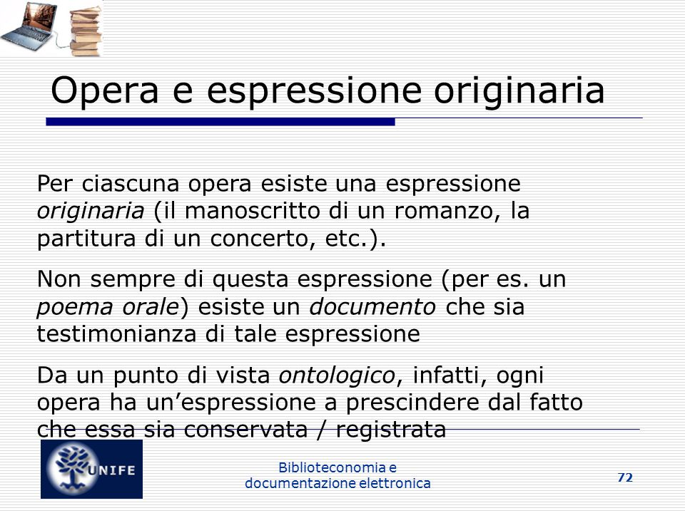 Opera e espressione originaria