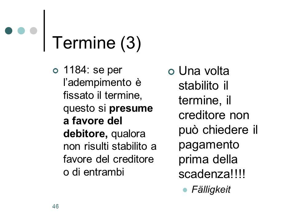 Termine (3)