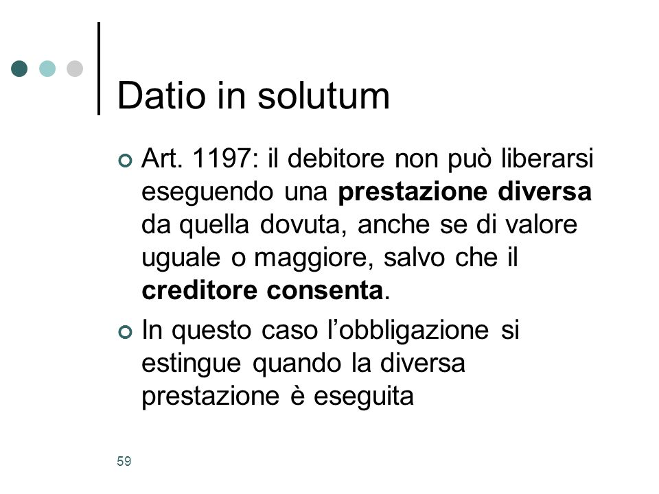 Datio in solutum