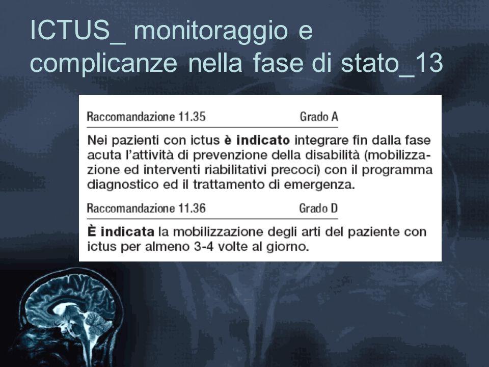 ICTUS_ monitoraggio e complicanze nella fase di stato_13