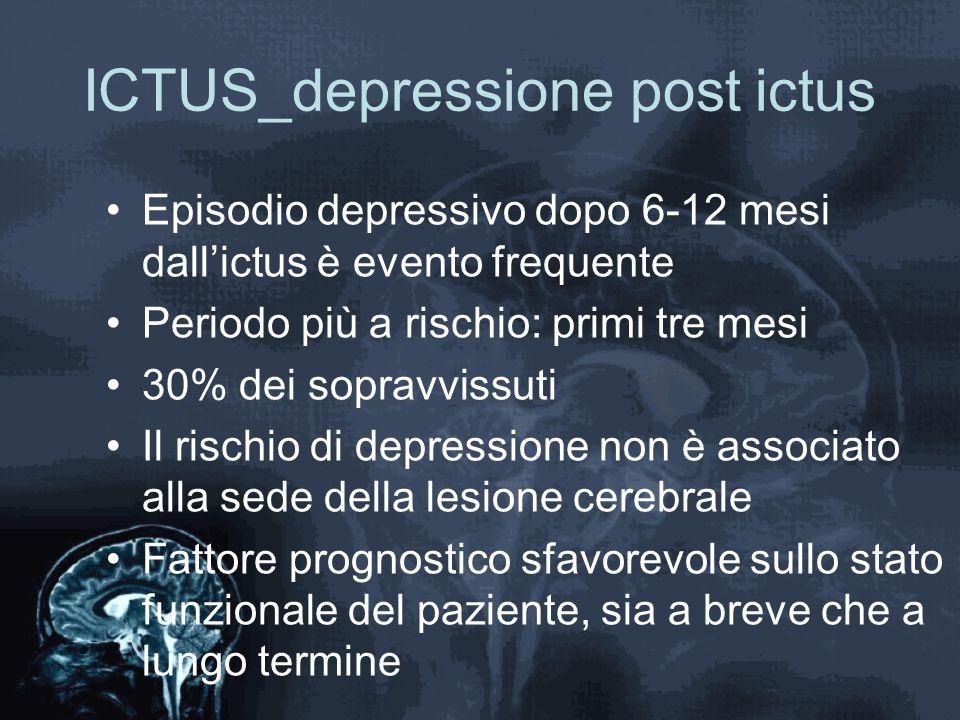 ICTUS_depressione post ictus