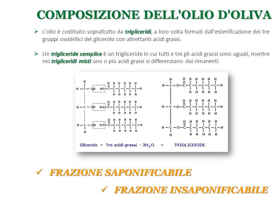 Composizione dell olio d oliva