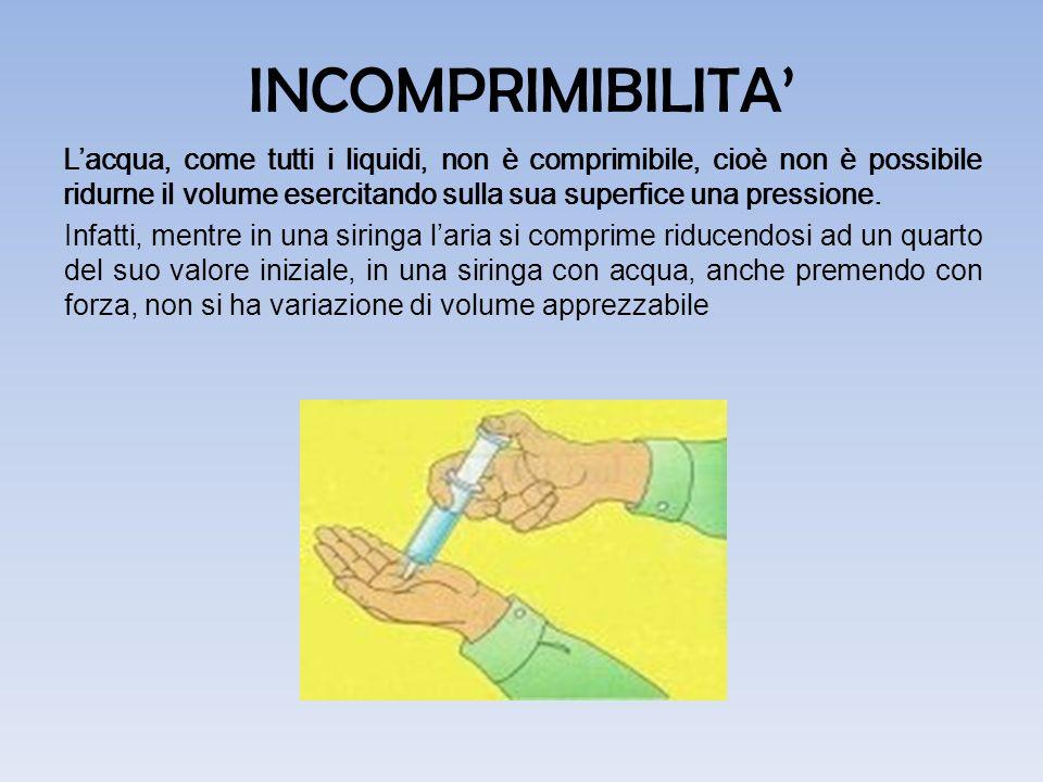 INCOMPRIMIBILITA'