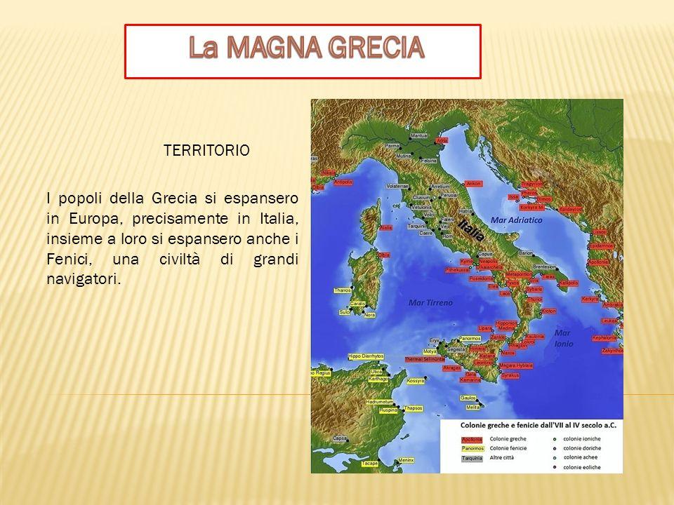 La MAGNA GRECIA TERRITORIO