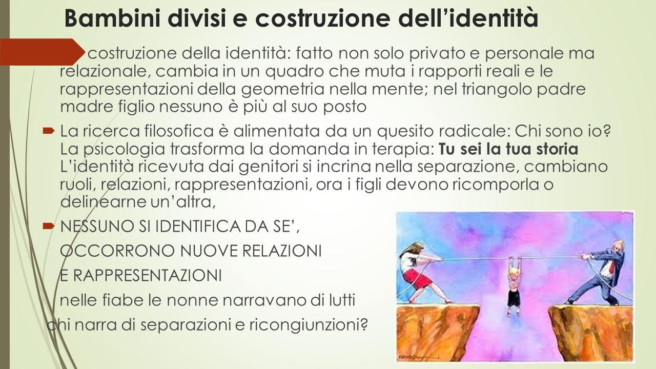 Bambini divisi e costruzione dell'identità