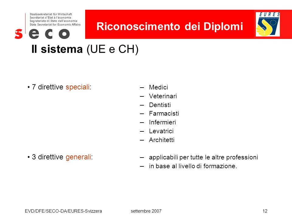 Riconoscimento dei Diplomi