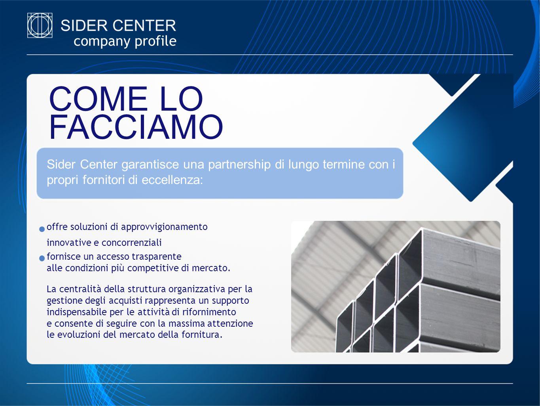 COME LO FACCIAMO company profile