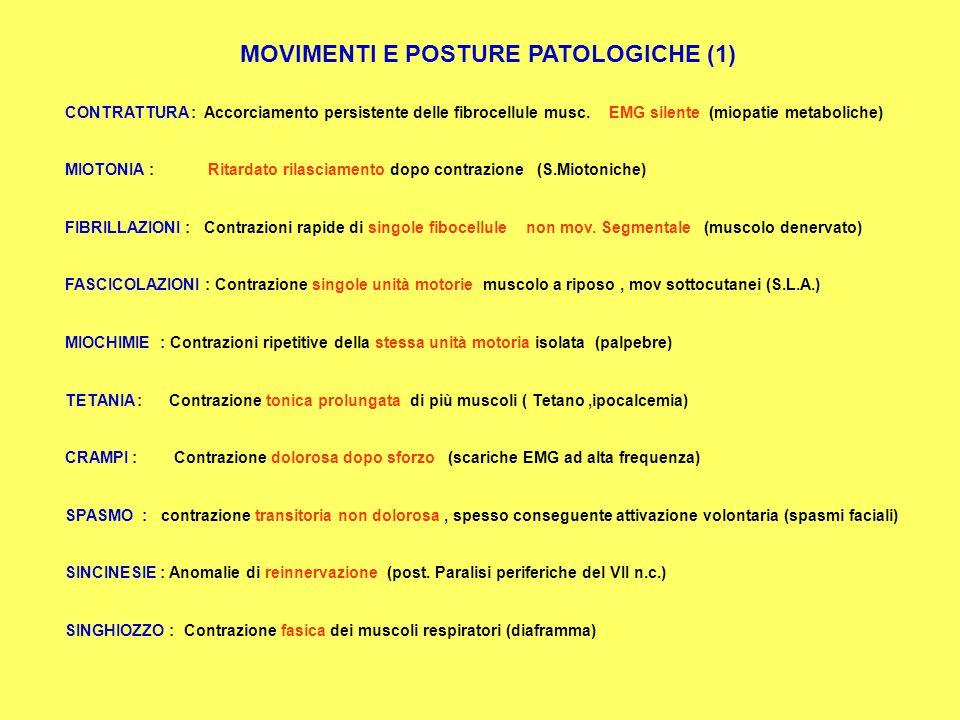 MOVIMENTI E POSTURE PATOLOGICHE (1)