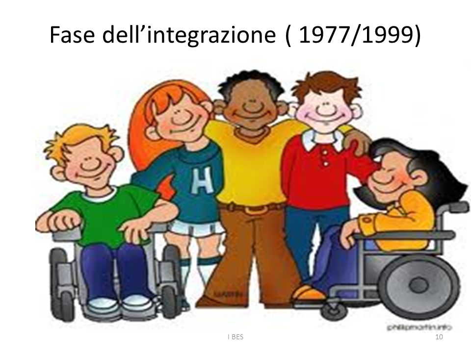 Fase dell'integrazione ( 1977/1999)