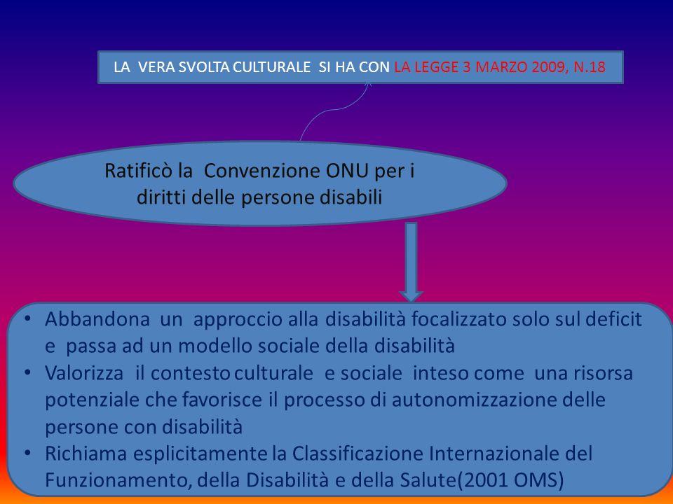 Ratificò la Convenzione ONU per i diritti delle persone disabili