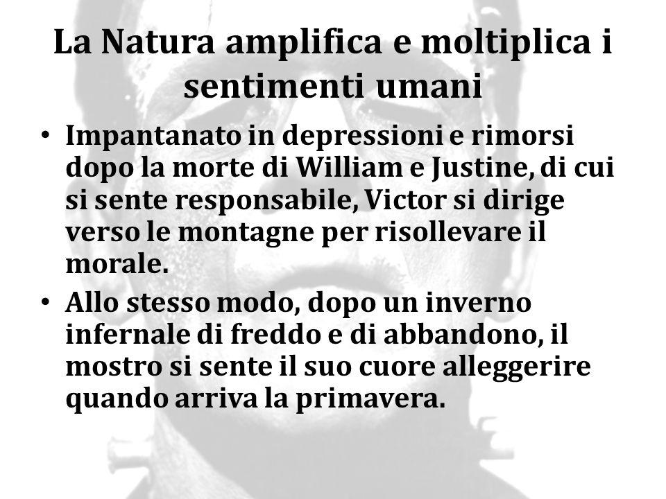 La Natura amplifica e moltiplica i sentimenti umani