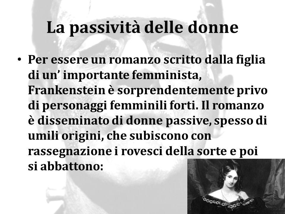 La passività delle donne