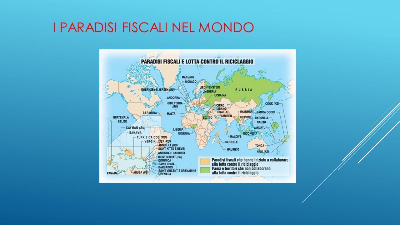 I paradisi fiscali nel mondo