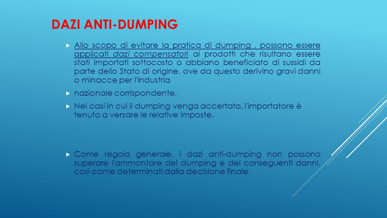 Dazi anti-dumping