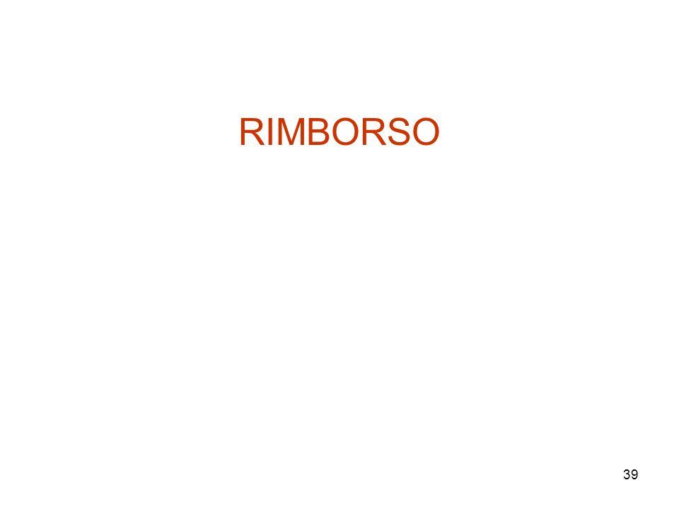 RIMBORSO