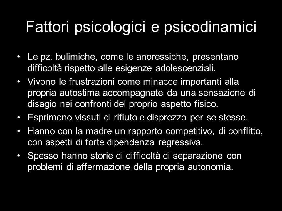 Fattori psicologici e psicodinamici