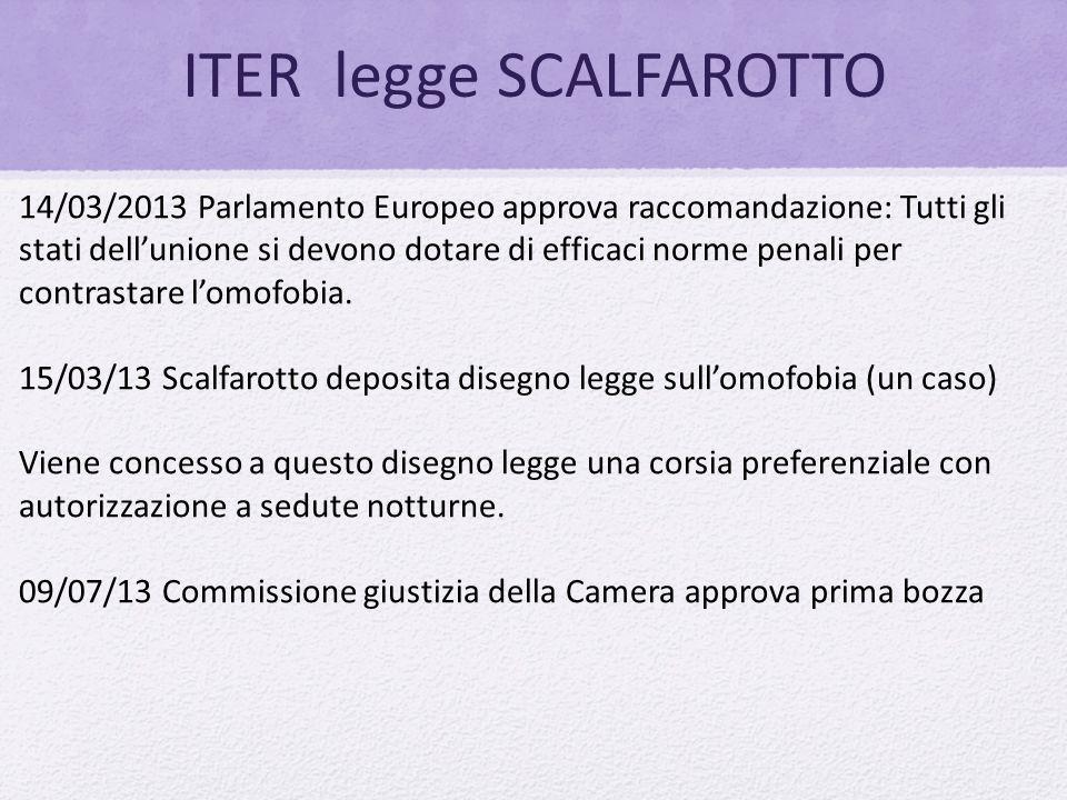 ITER legge SCALFAROTTO