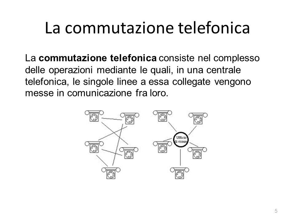 La commutazione telefonica