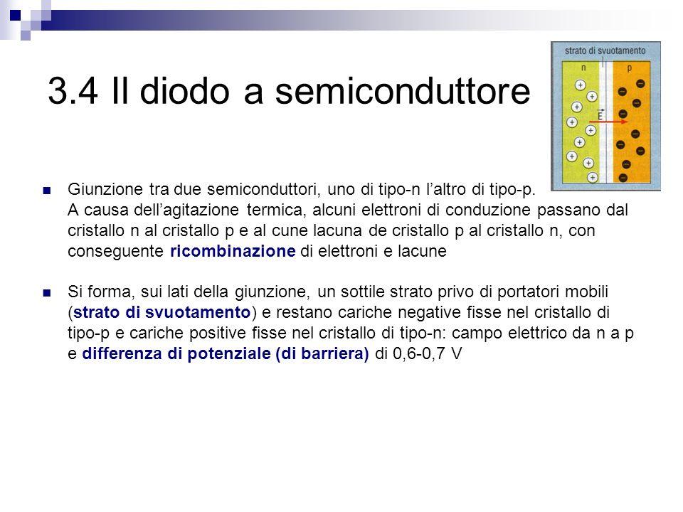 3.4 Il diodo a semiconduttore
