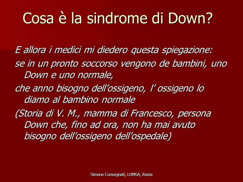Cosa è la sindrome di Down