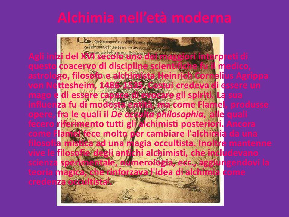 Alchimia nell'età moderna