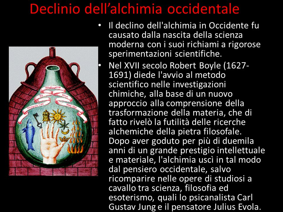 Declinio dell'alchimia occidentale