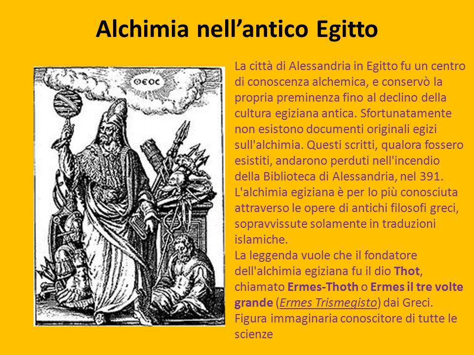 Alchimia nell'antico Egitto