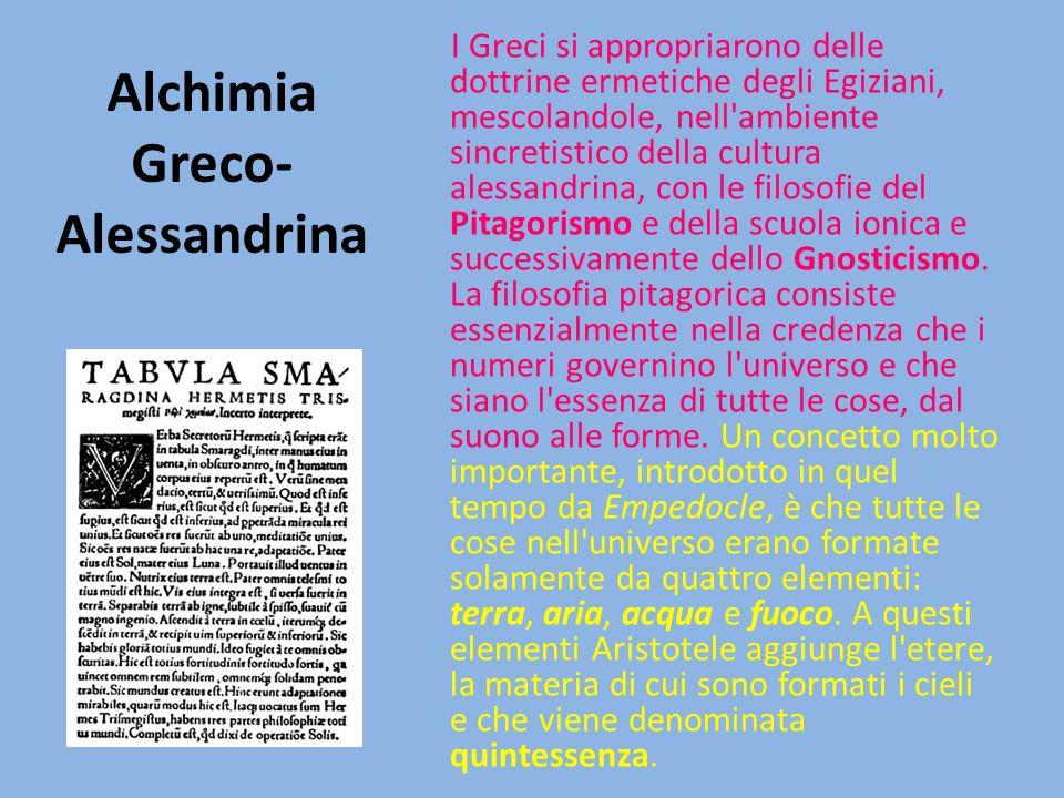 Alchimia Greco- Alessandrina