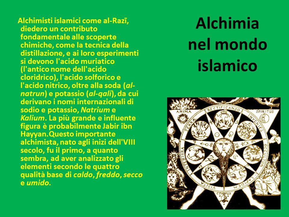 Alchimia nel mondo islamico