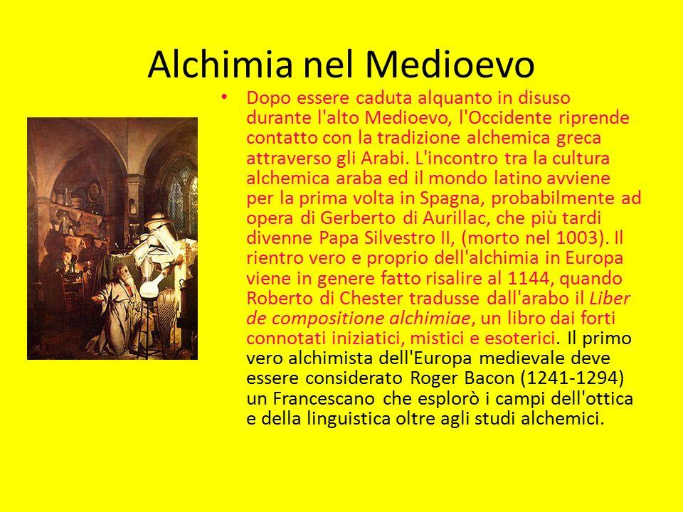 Alchimia nel Medioevo