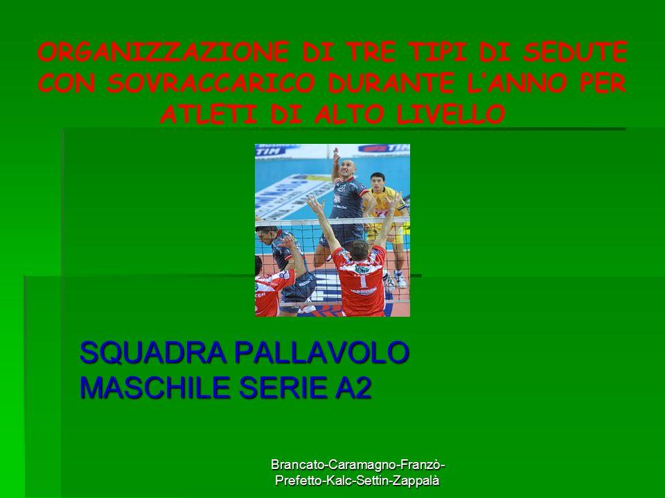 SQUADRA PALLAVOLO MASCHILE SERIE A2