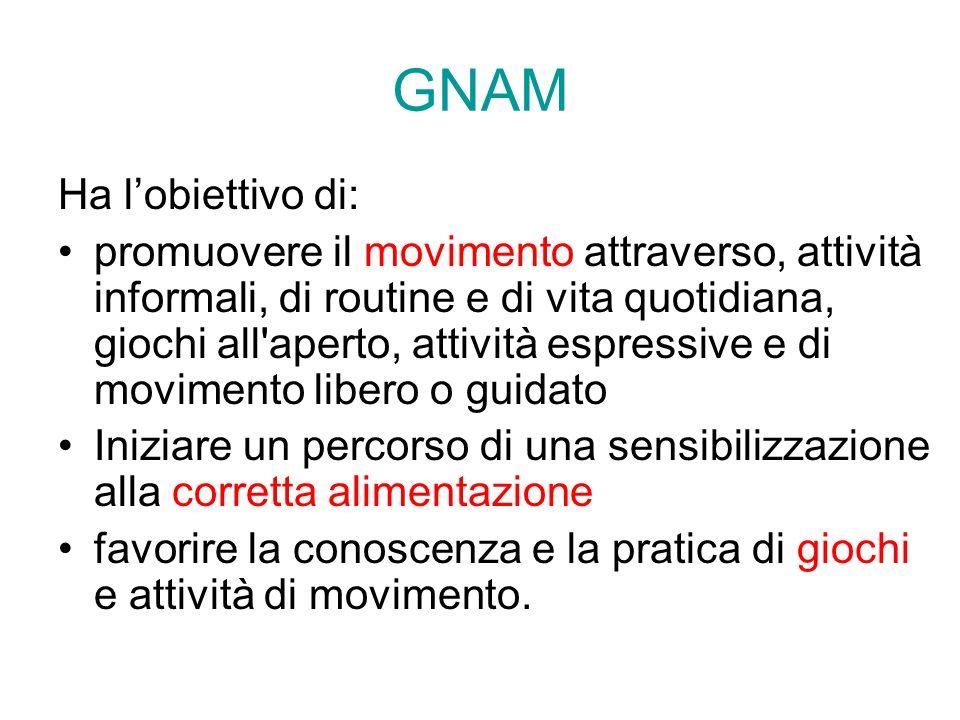 GNAM Ha l'obiettivo di: