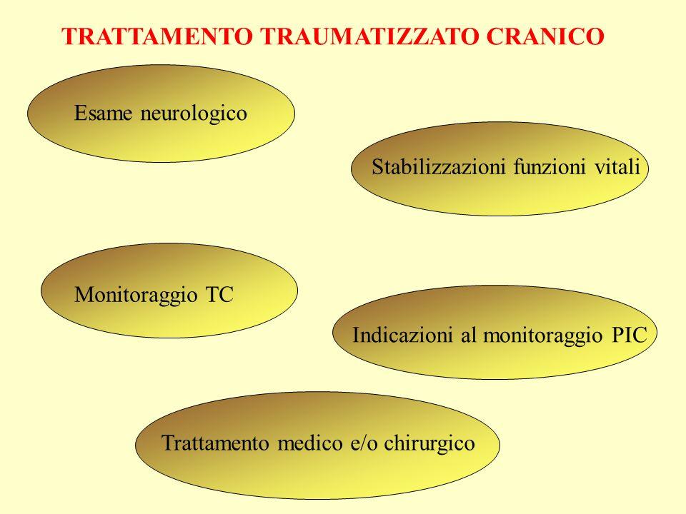 TRATTAMENTO TRAUMATIZZATO CRANICO