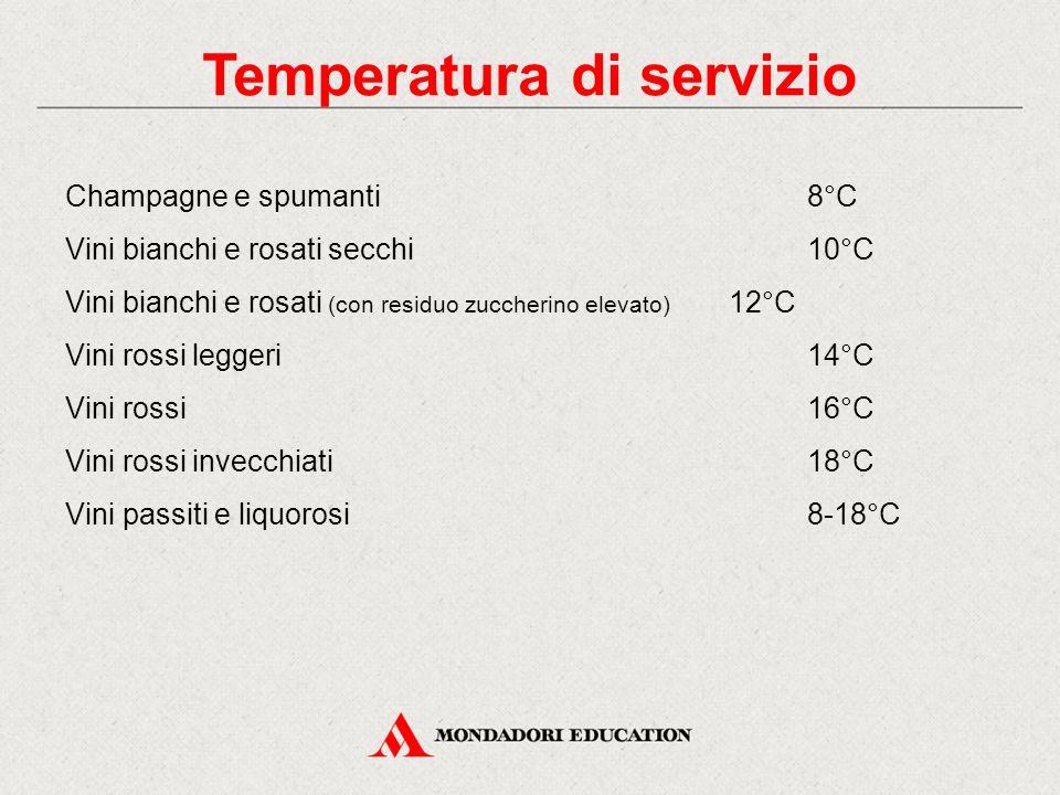 Temperatura di servizio