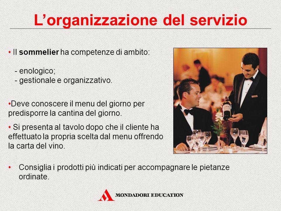L'organizzazione del servizio
