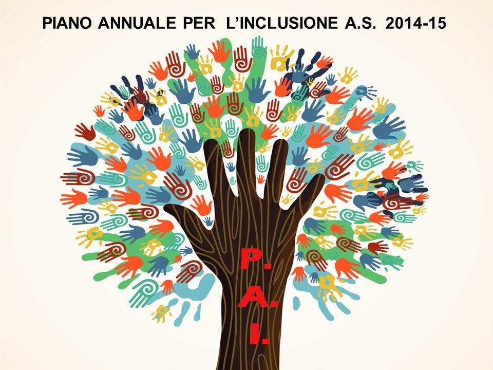 PIANO ANNUALE PER L'INCLUSIONE A.S. 2014-15