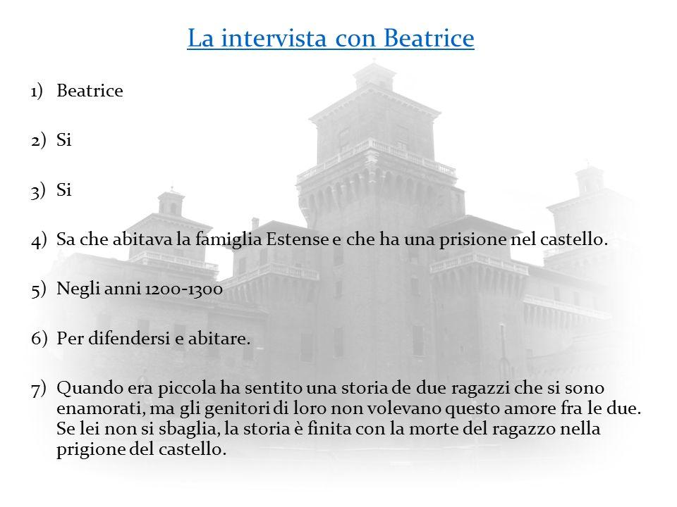 La intervista con Beatrice