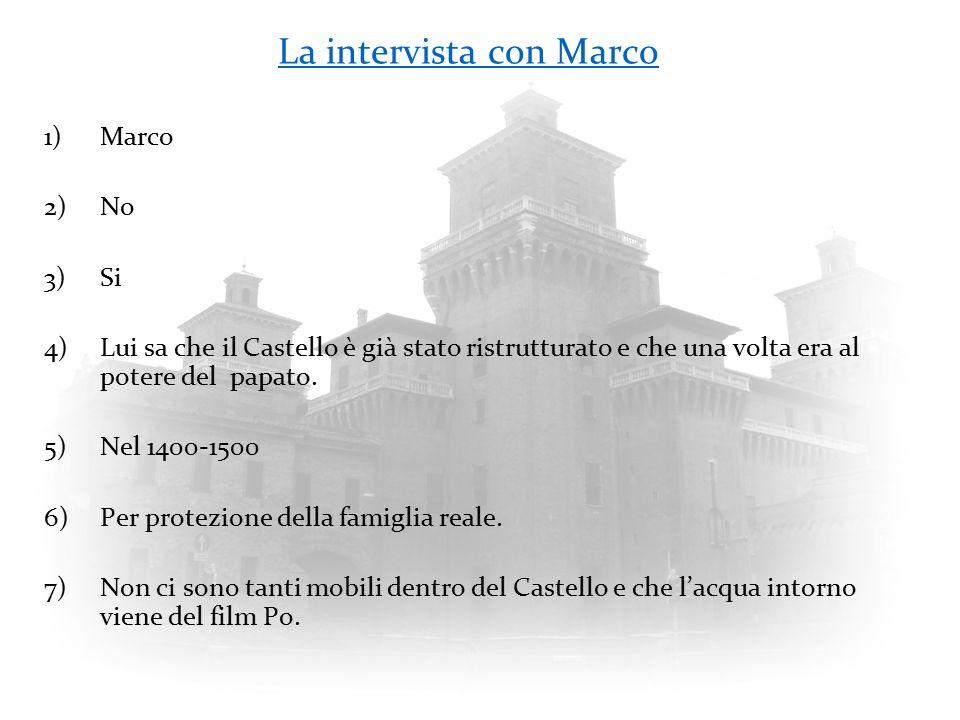 La intervista con Marco