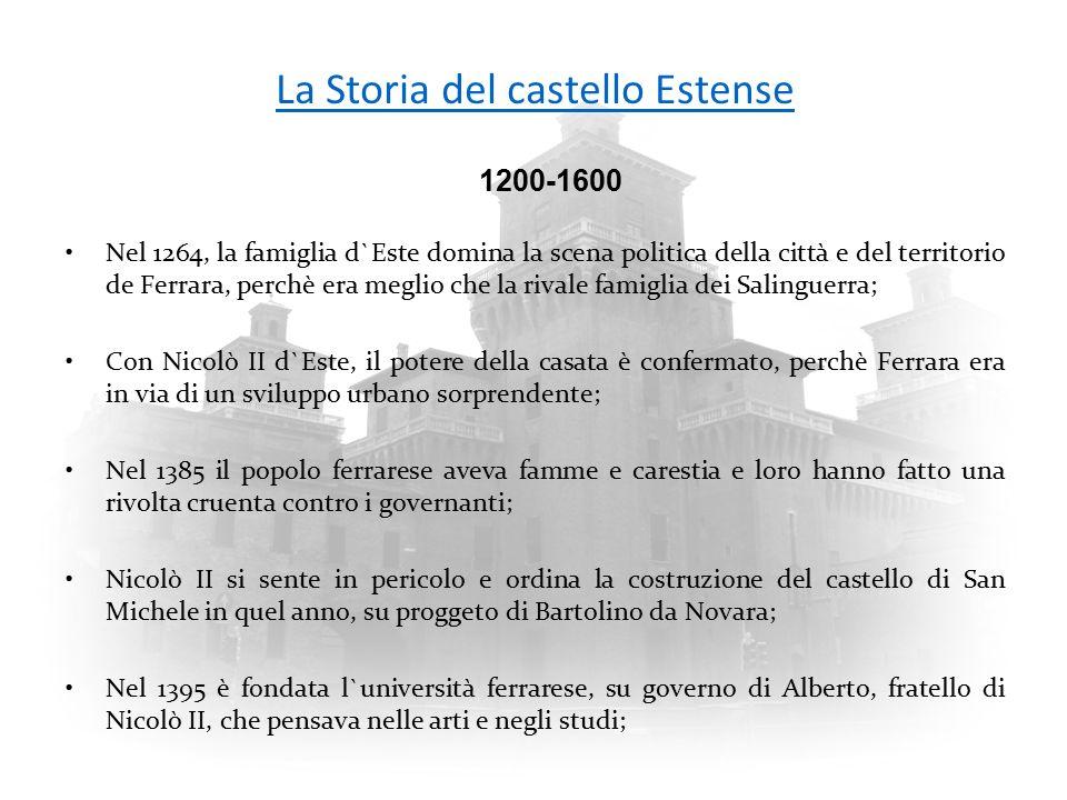La Storia del castello Estense
