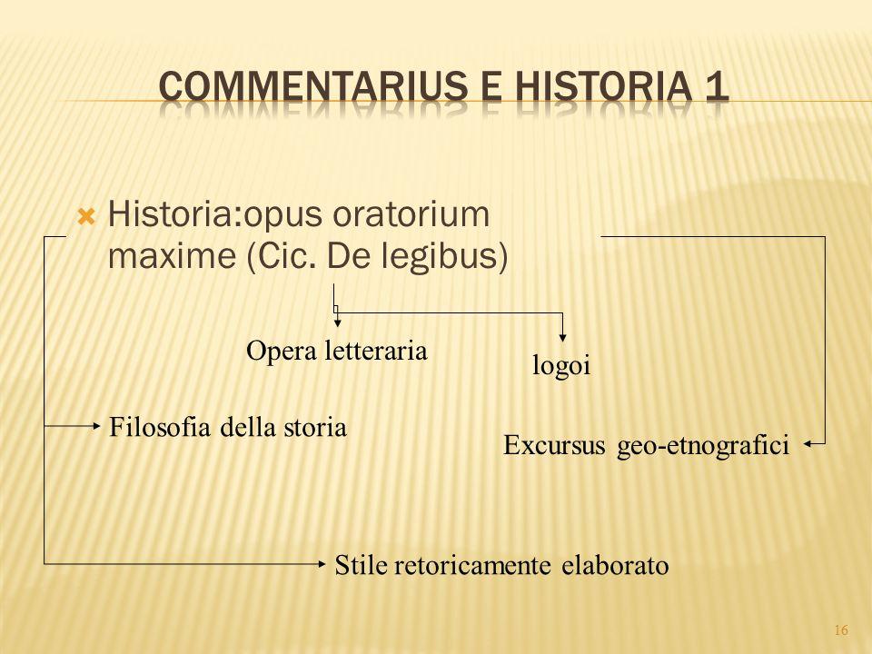 Commentarius e historia 1