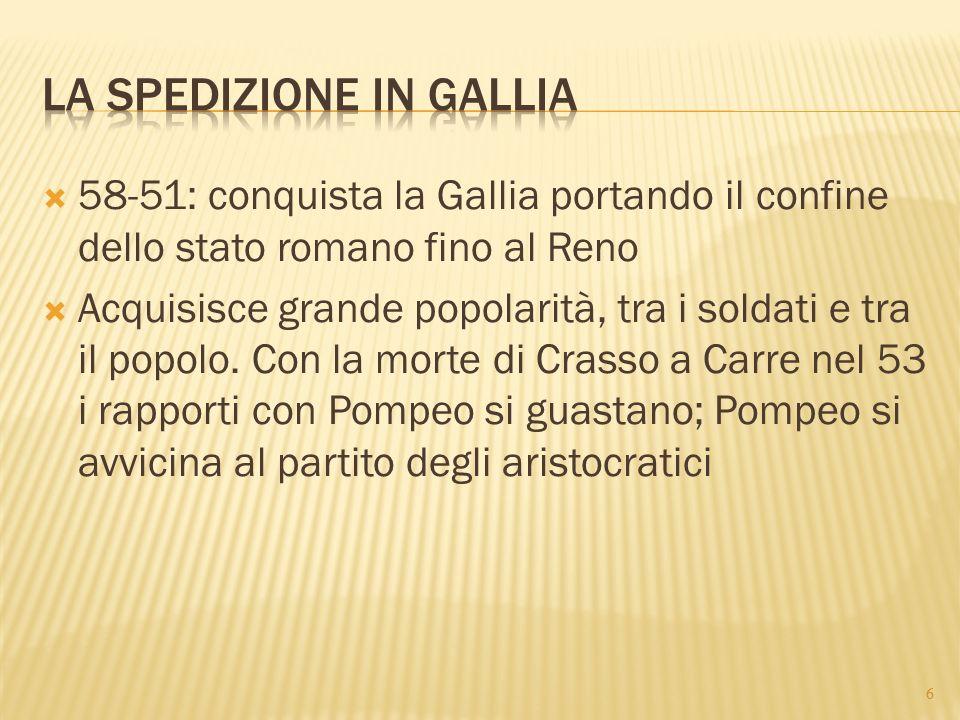 La spedizione in Gallia